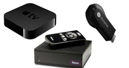 El Chromecast de Google Supera en Ventas al Apple TV