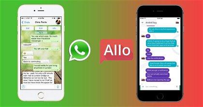 WhatsApp Está en Peligro, Google Allo ha Llegado