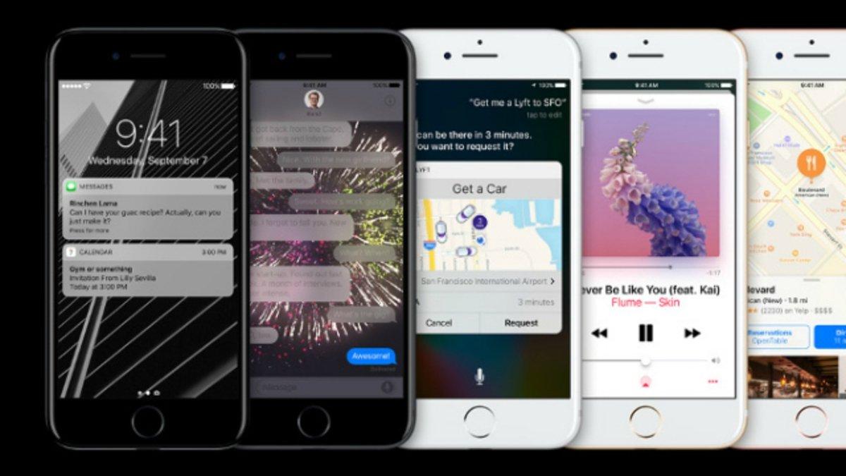 iPhone 7 iOS 10