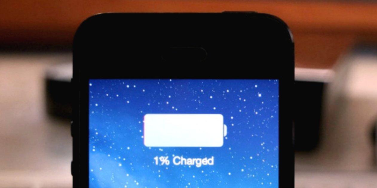 iPhone Porcentaje de bateria