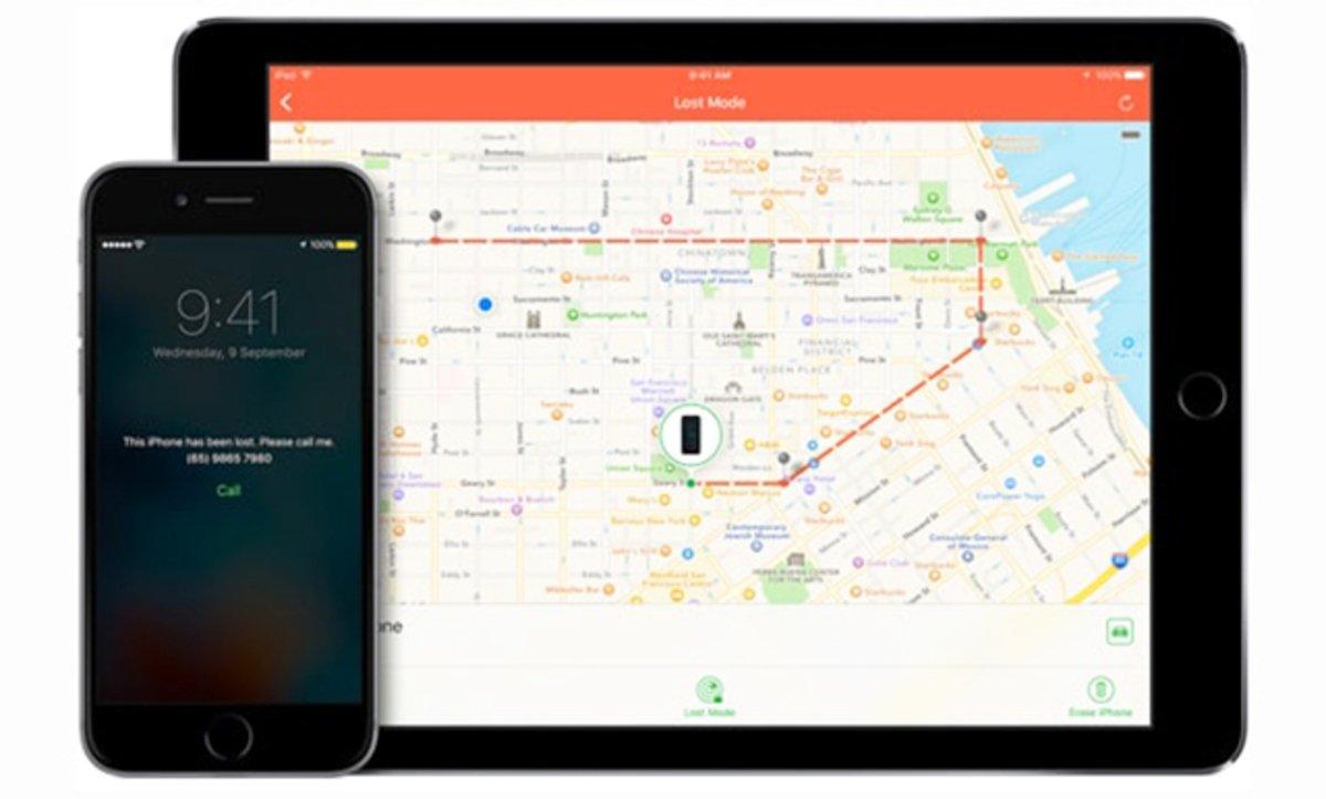 Buscar mi iPhone iOS 10
