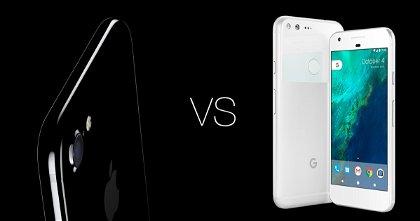 Apple iPhone 7 vs Google Pixel