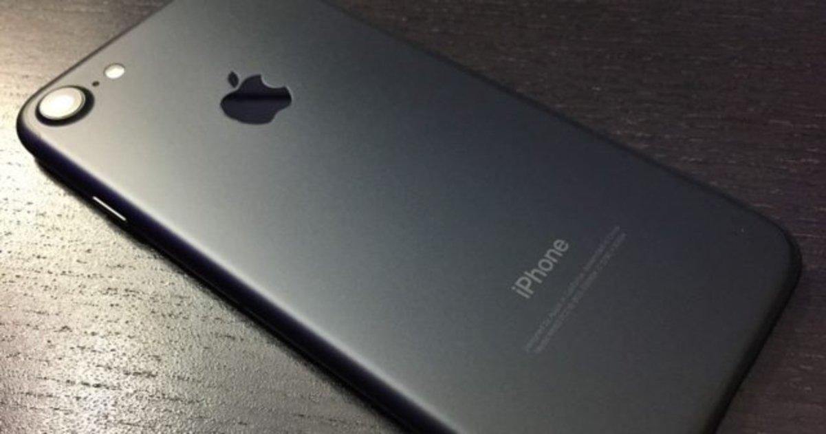 iPhone 7 negro mate Black Friday