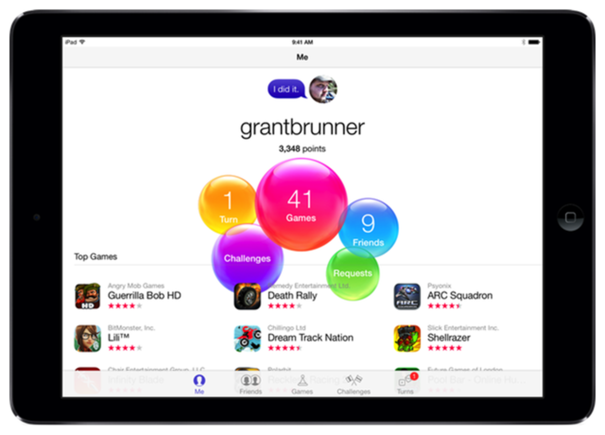 iPad-Game-Center