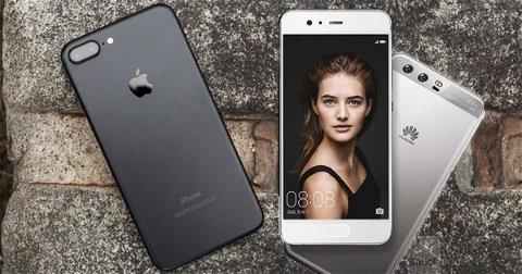 iPhone 7 Plus vs Huawei P10 Plus, ¿podrá hacer frente al iPhone?
