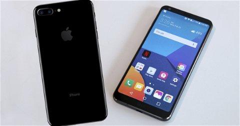 Apple iPhone 7 Plus vs LG G6, ¿es todo su pantalla?