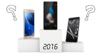 Estos son los 10 smartphones más vendidos de 2016, ¿algún iPhone?