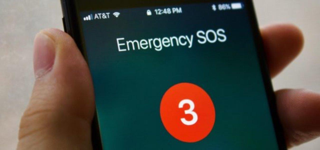 iPhone llamada de emergencia
