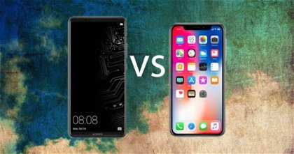 Huawei quiere ser el primero: Huawei Mate 10 Pro vs iPhone X