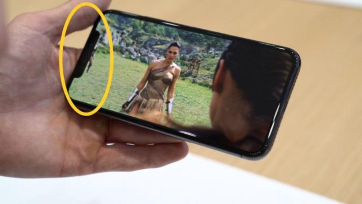 """Por qué el iPhone X necesita su polémico """"notch"""""""