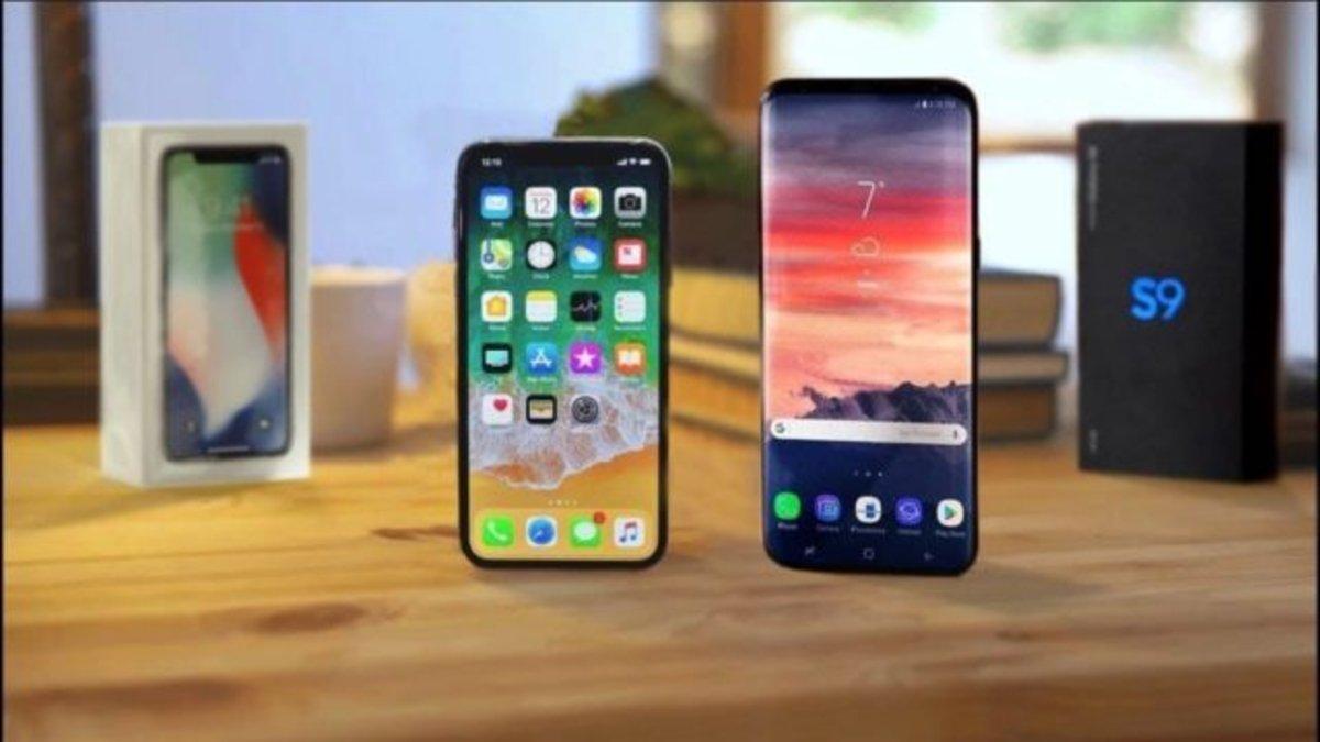 Samsung Galaxy S9 vs iPhone X: La experiencia del usuario