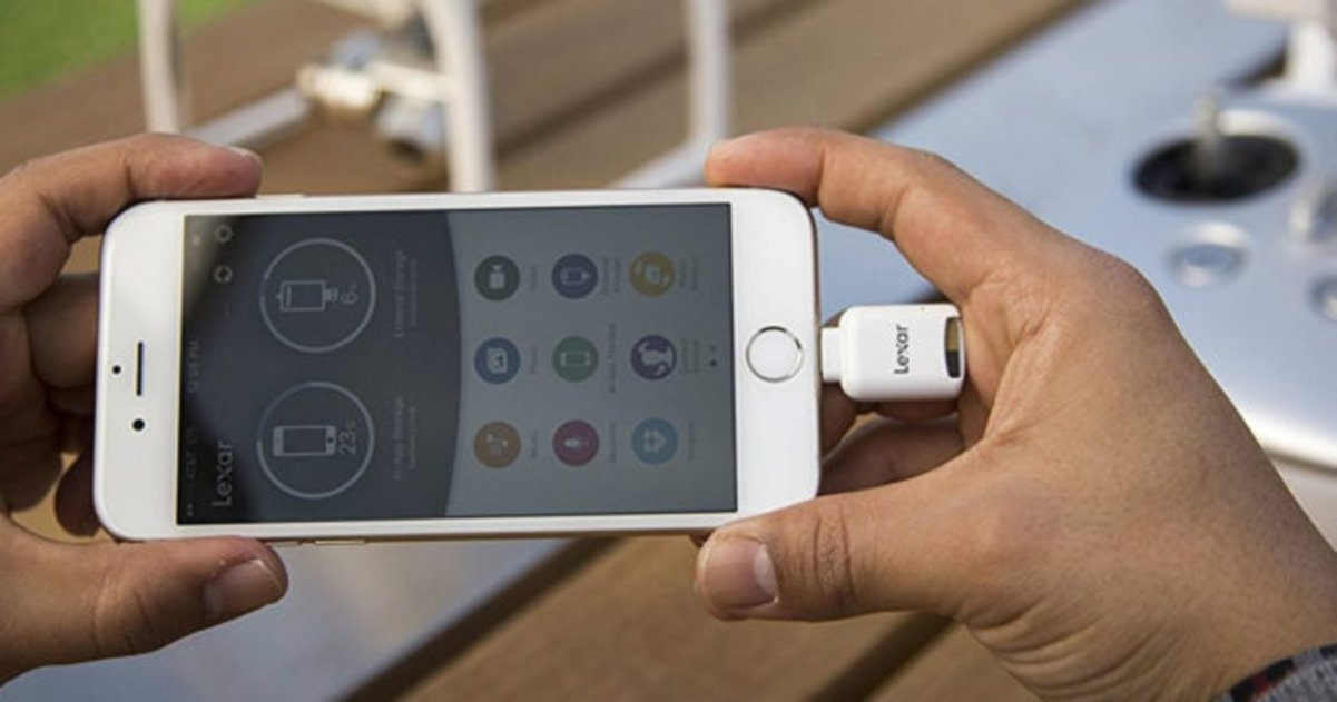 Por fin podrás usar una microSD con tu iPhone