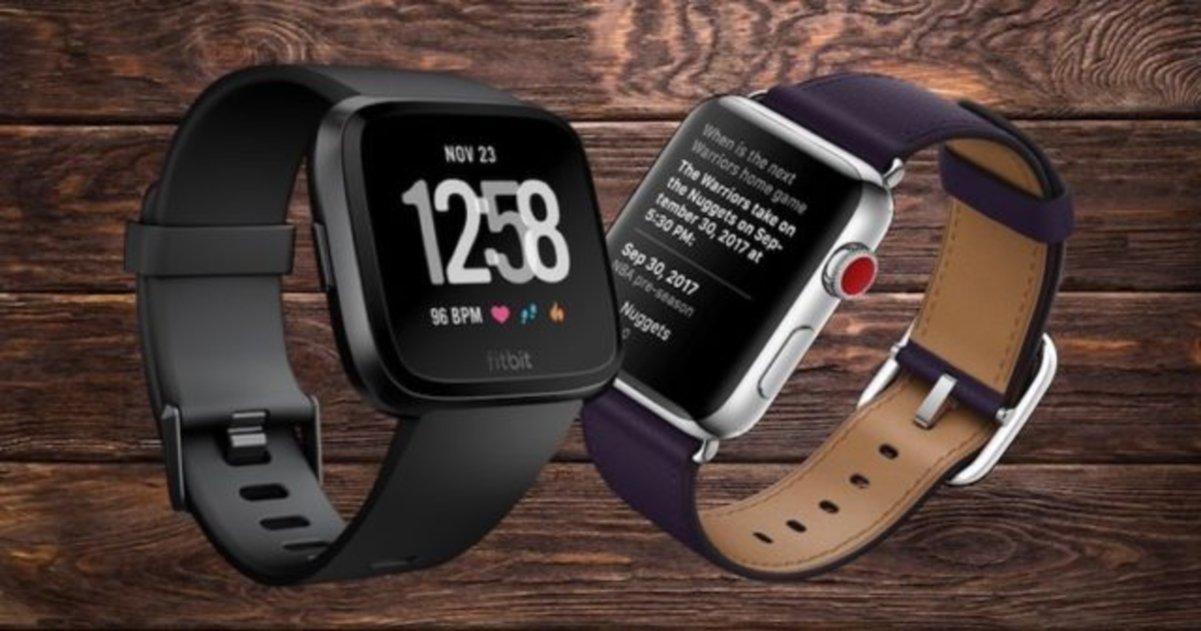 Fitbit Versa vs Apple Watch: ¿Qué smartwatch es mejor para hacer deporte?