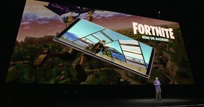 Fortnite es el arma secreta de Samsung para poder vender su nuevo tope de gama