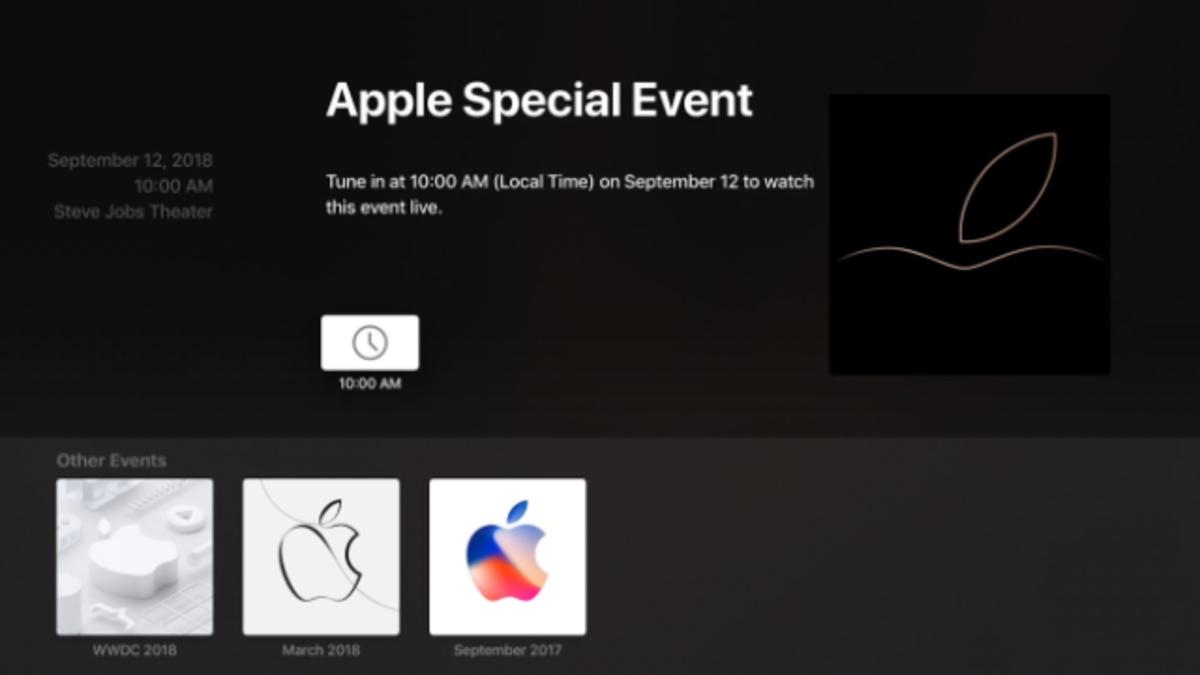 Cómo ver la keynote de Apple en directo y gratis
