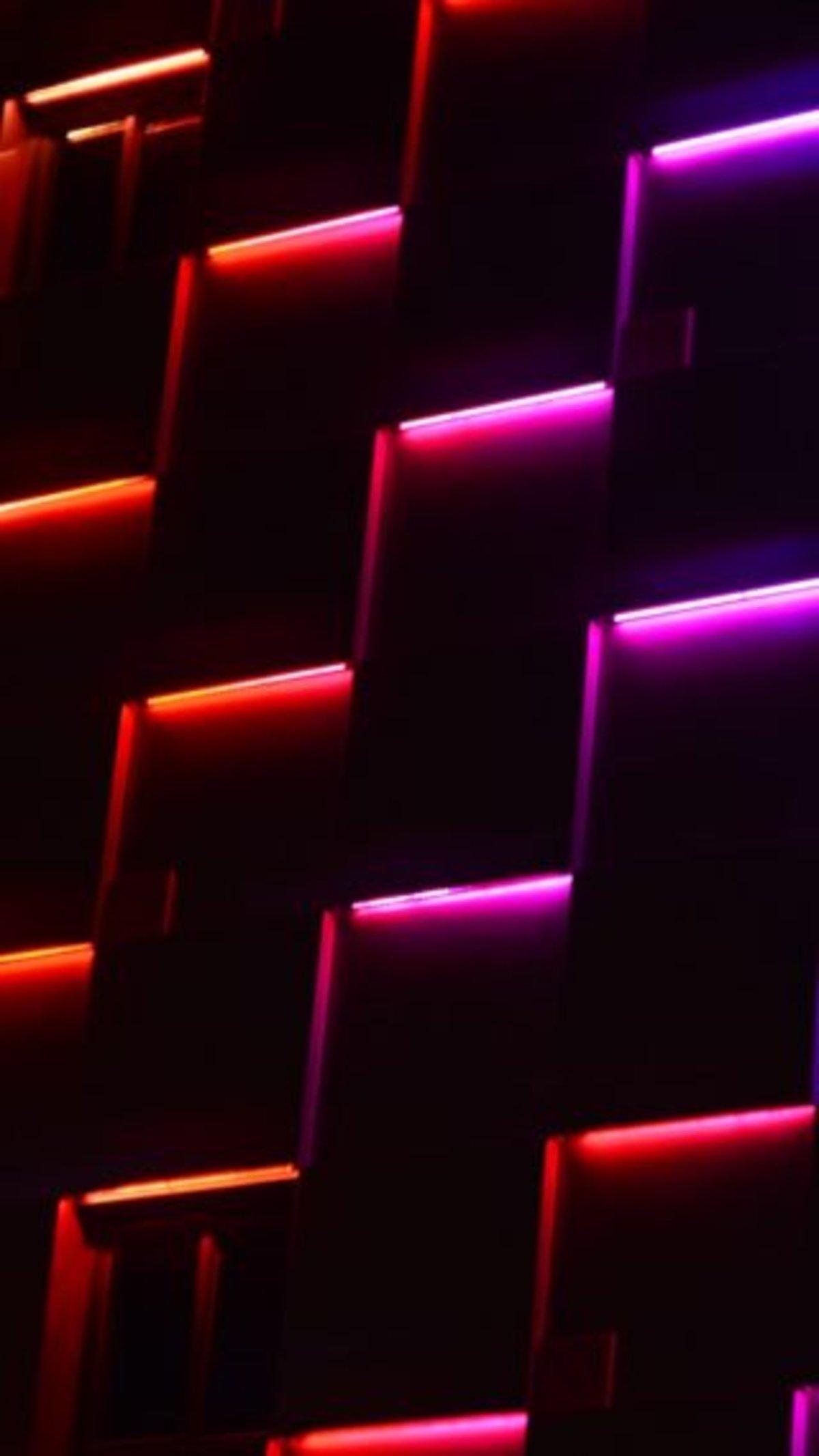 Descarga estos deslumbrantes wallpapers de neón para tu iPhone
