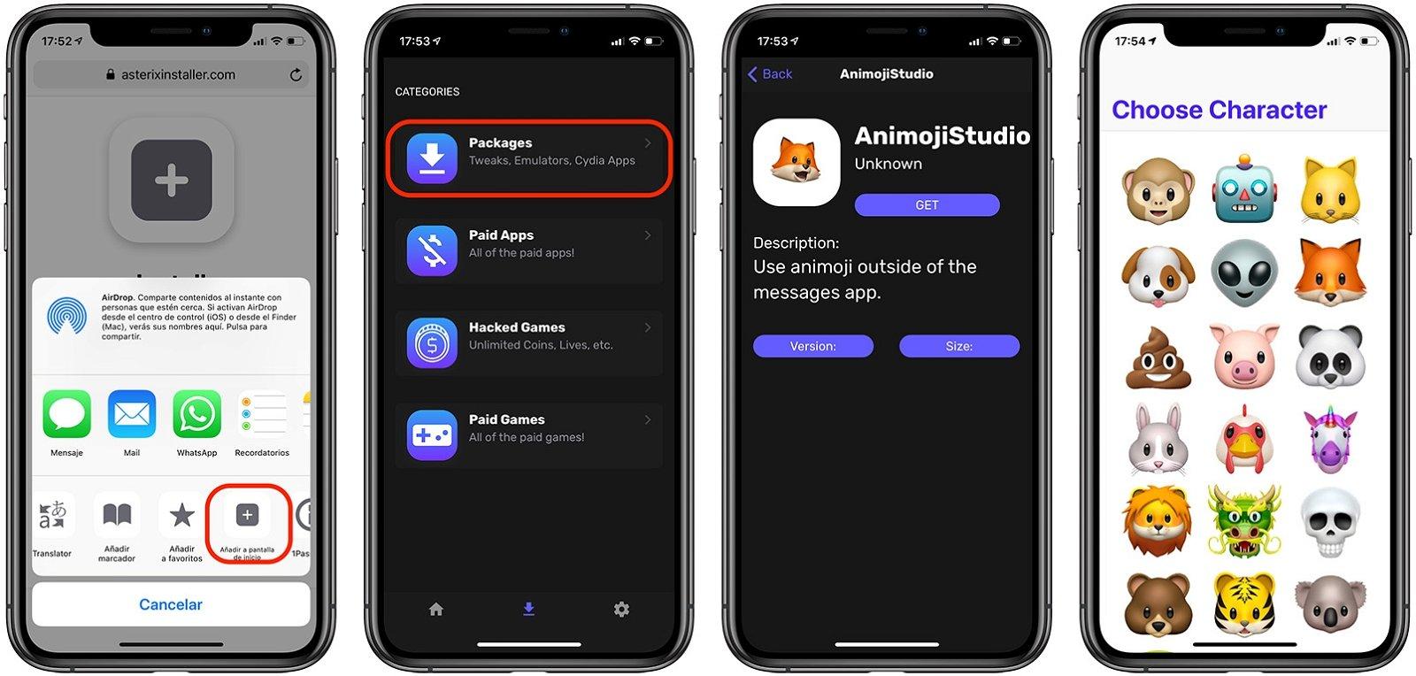 Cómo enviar Animojis y Memojis por WhatsApp a cualquiera fácilmente