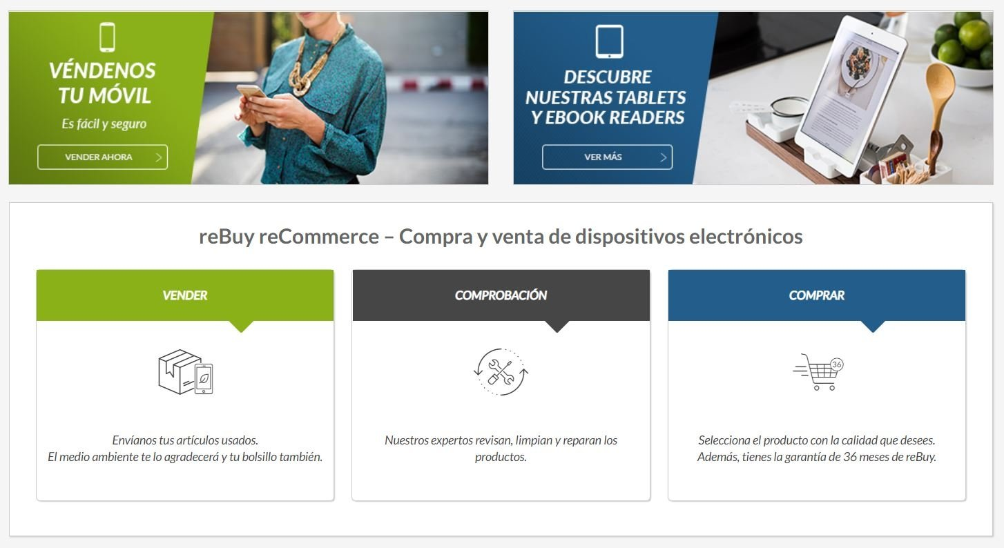 reBuy es el lugar donde comprar o vender un iPad o iPhone con totales garantías