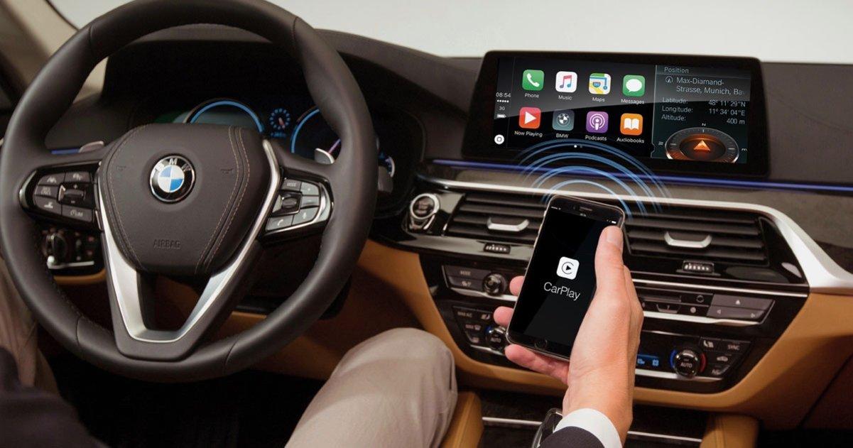 CarPlay en un auto