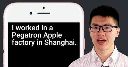 Este joven estudiante ha trabajado 6 semanas de incógnito fabricando iPhone en las instalaciones de Pegatron