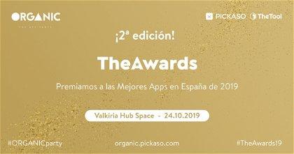"""""""TheAwards"""" premiará las mejores apps y juegos españoles de 2019"""