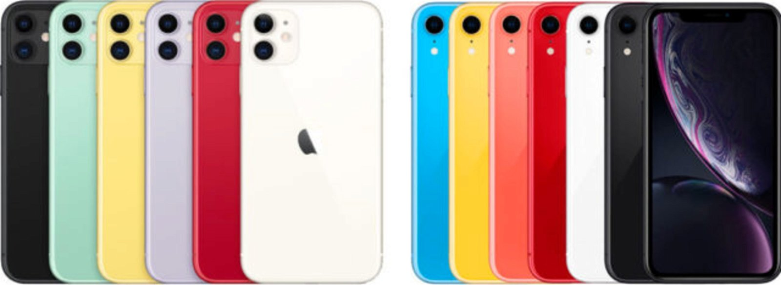 colores iPhone 11 y XR