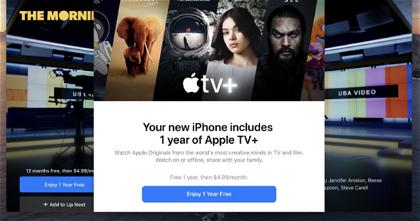 Cómo conseguir tu año gratis de Apple TV+