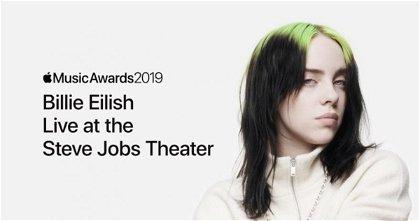 Así fue el concierto en directo de Billie Eilish durante los Apple Music Awards en el Apple Park