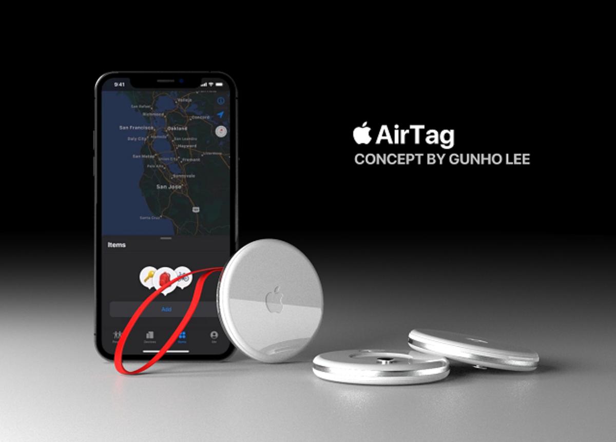 AirTag concepto