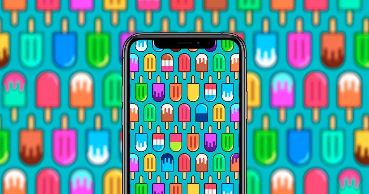 wallpapers iPhone comida