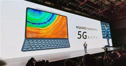 Huawei presenta su MatePad Pro 5G, prácticamente un clon del iPad Pro