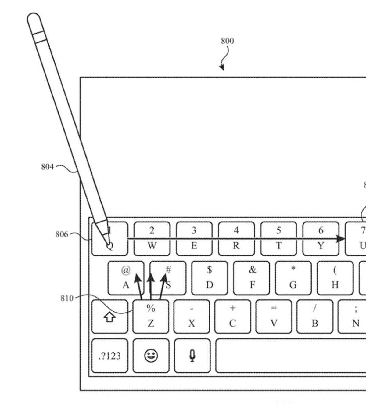Háptica en Apple Pencil