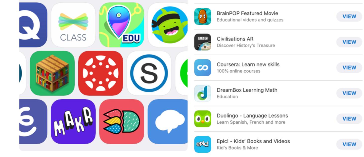 Apps para aprender en casa