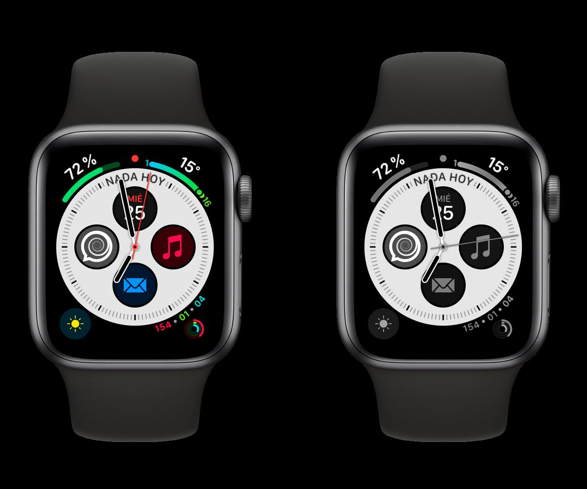 apple watch gris