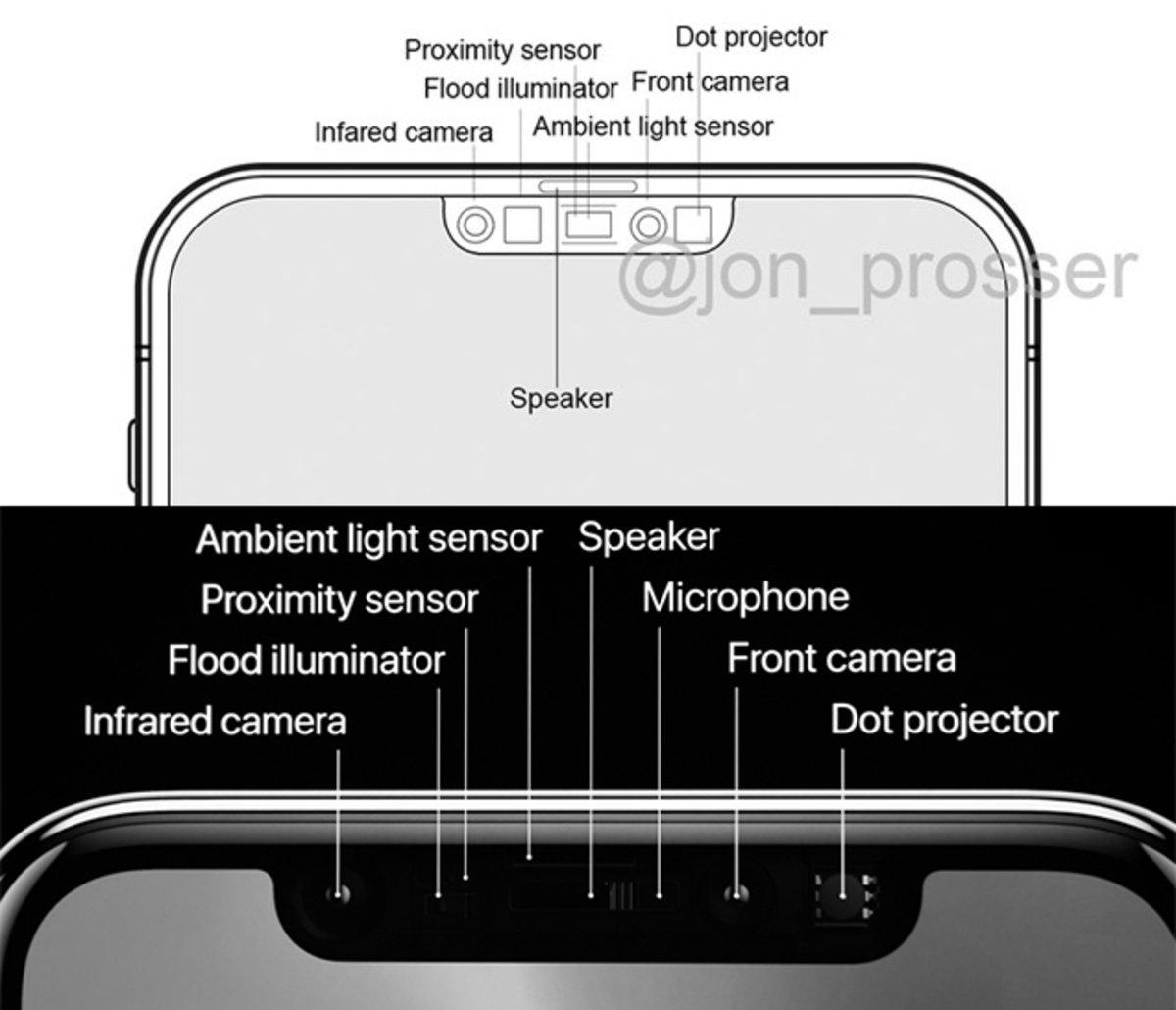 nuevo face id notch iPhone 12