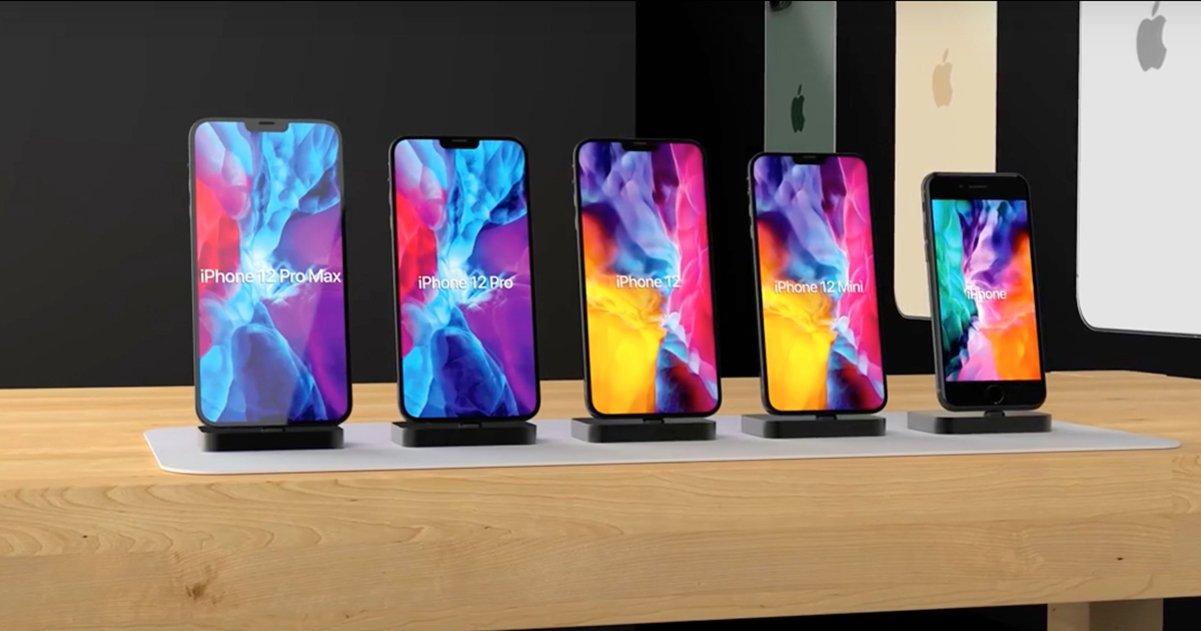 nuevos iPhone 12 2020 2