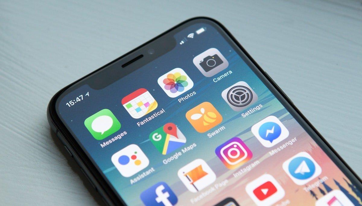 Aplicaciones en iOS y iPadOS