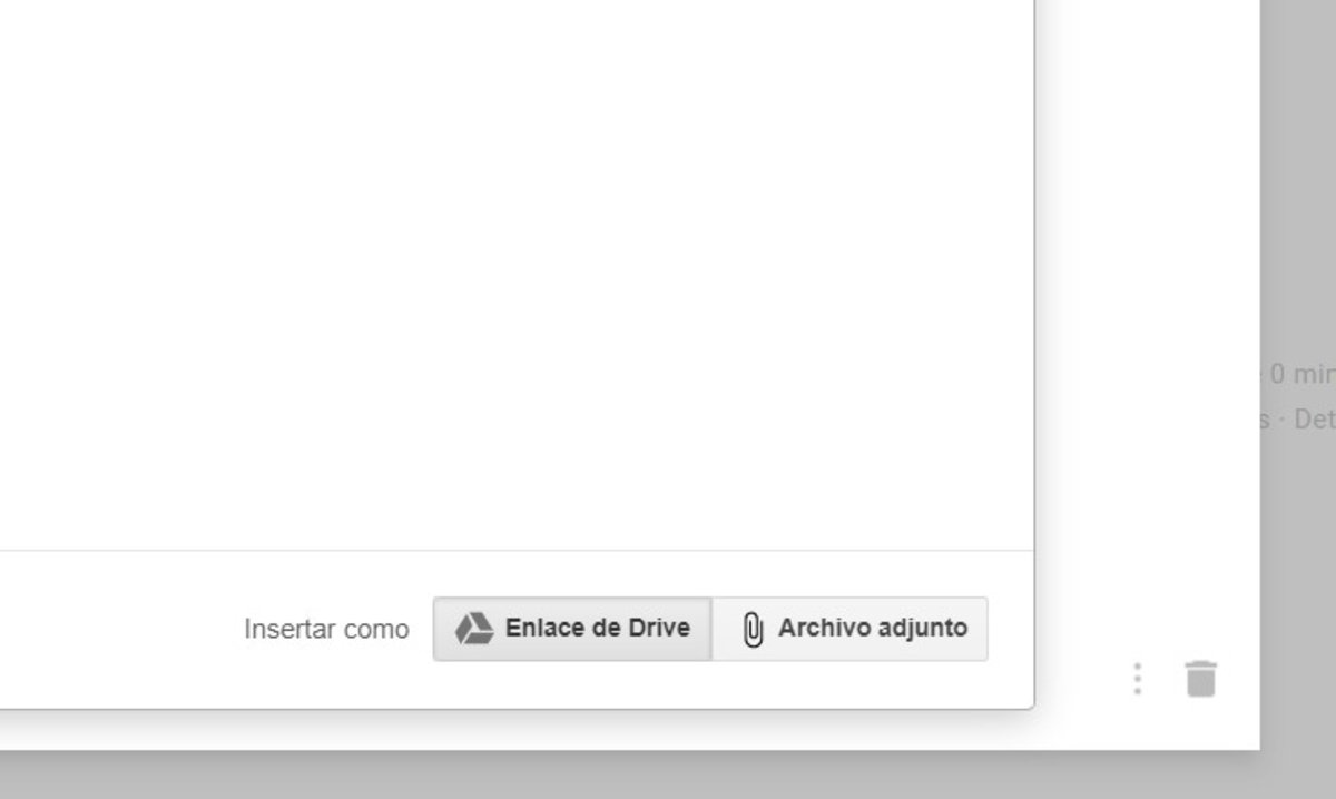 Adjuntar documentos en Gmail
