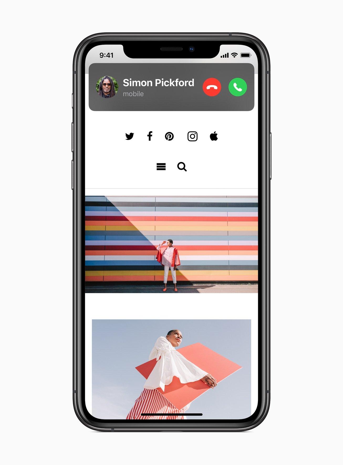 llamadas iOS 14