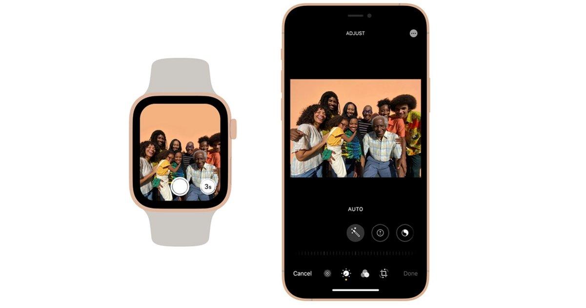 camara iPhone apple watch