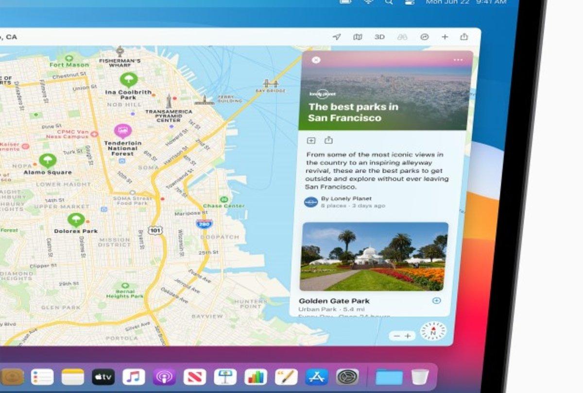 macOS Big Sur Mapas