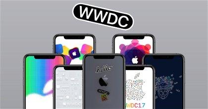 Los wallpapers de cada edición de la WWDC de Apple