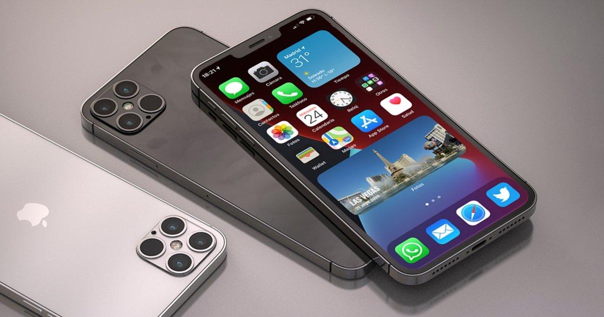 iPhone 12 ios 14 modo oscuro