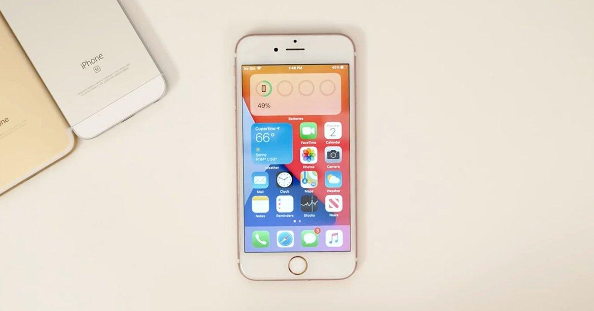 iPhone 6s con ios 14