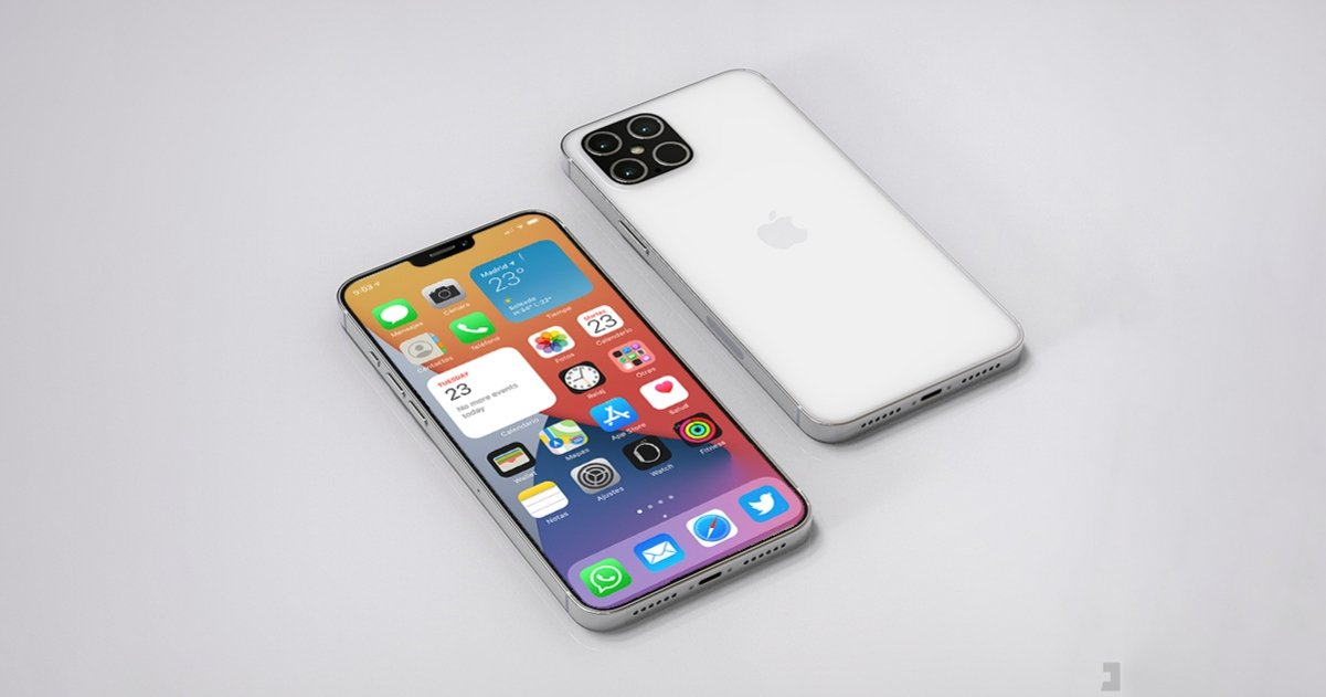 iPhone 12 con iOS 14