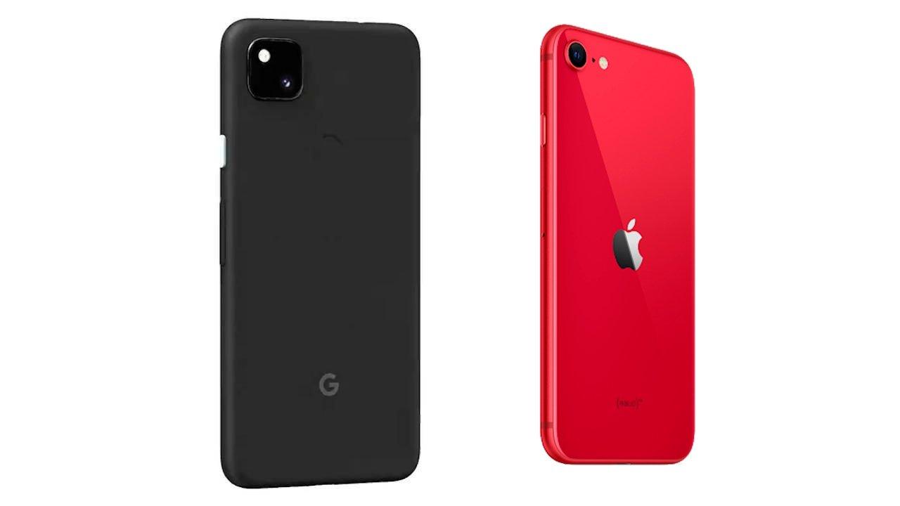 cámaras pixel 4a iPhone se