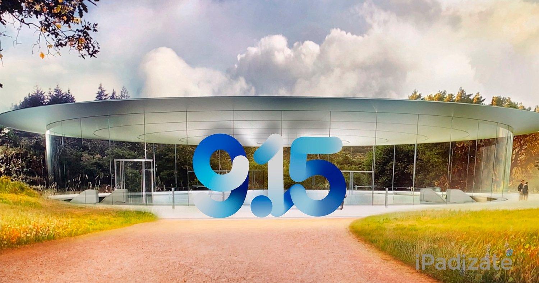 Apple Keynote 2020 septiembre fecha portada