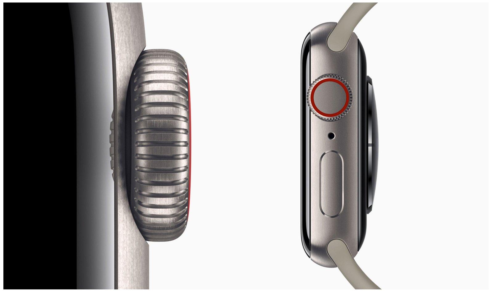 Apple Watch titanio
