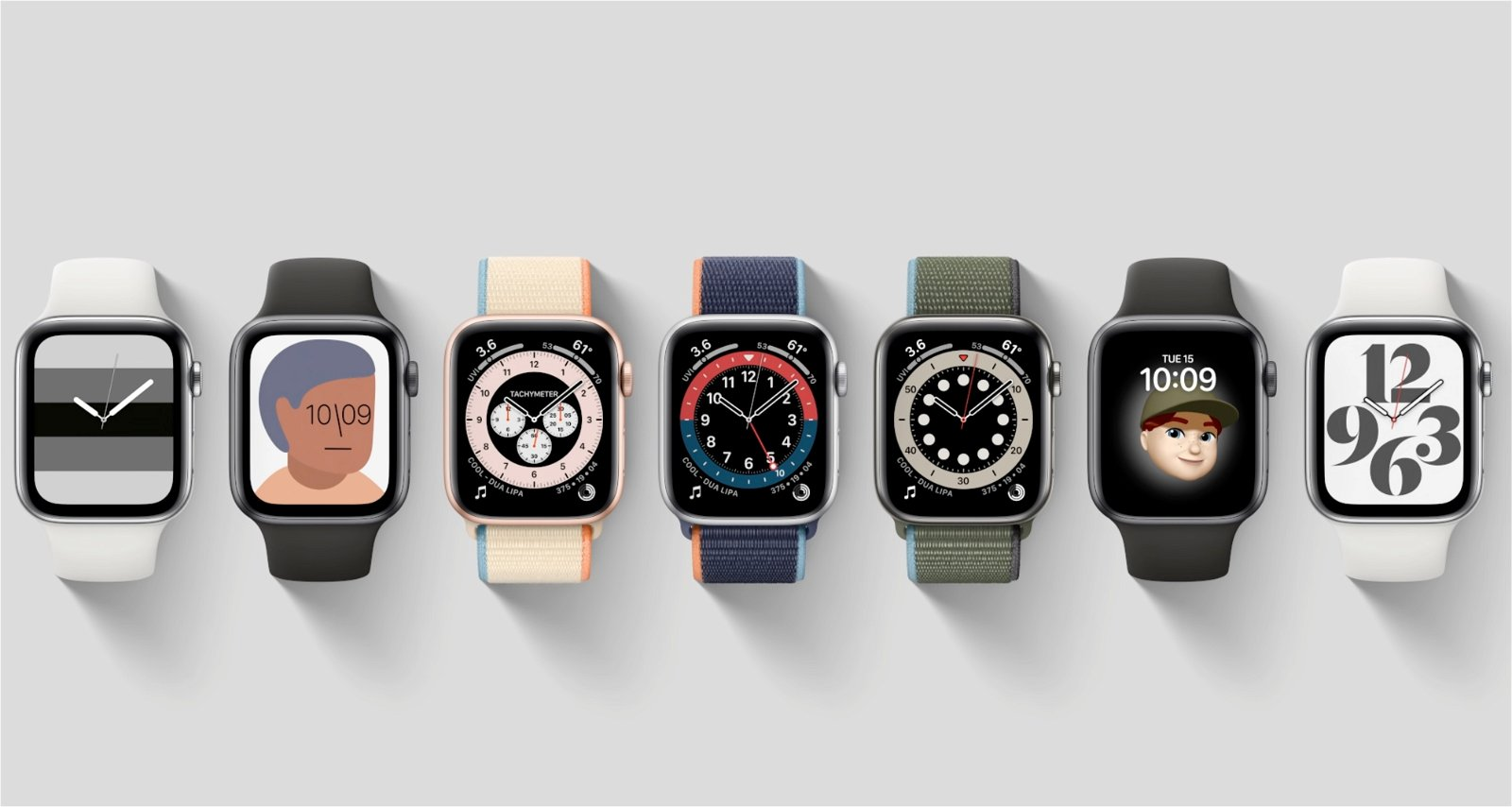 apple watch series 6 watch faces