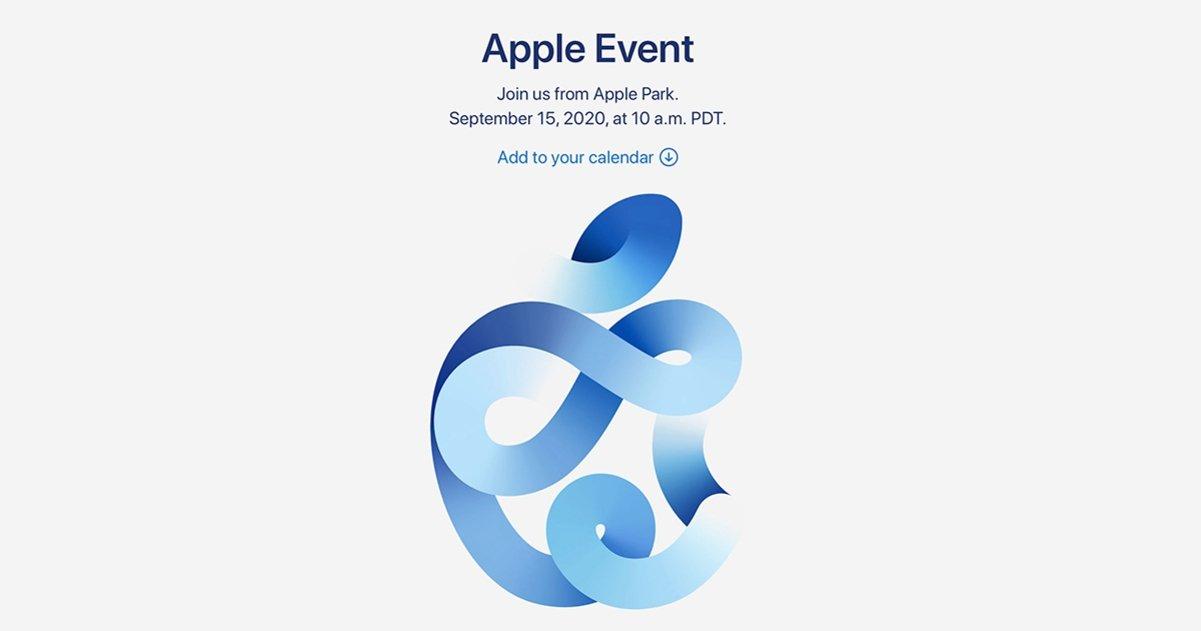 evento apple 15 septiembre 2020